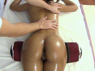 Sexuak rubdown for thai sweetie Sandy
